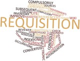 Word cloud for Requisition