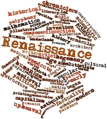 Word cloud for Renaissance