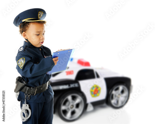 Ticket-Writing Cop