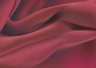 Drapé de velours rouge
