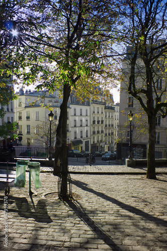 Morning in Monmartre, Paris