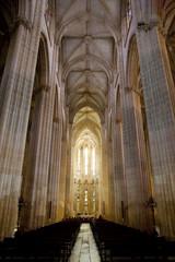 interior of Santa Maria da Vitoria Monastery, Batalha, Estremadu