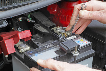 servicing battery