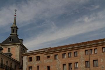 Casa de la Villa in Plaza de la Villa, Madrid, Spain. Seat of Ci