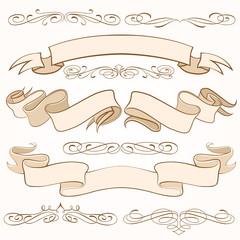 Vector Ribbons Set 2