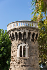 tower in Valldemosa, Mallorca, Spain