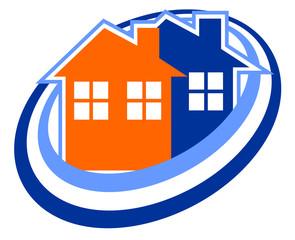 Creative house icon