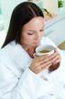 Tea at spa