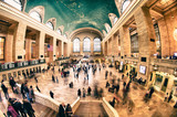 Fototapety Interior of Grand Central Terminal in New York City