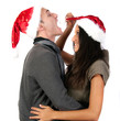 Happy and Funny Xmas / Christmas Couple