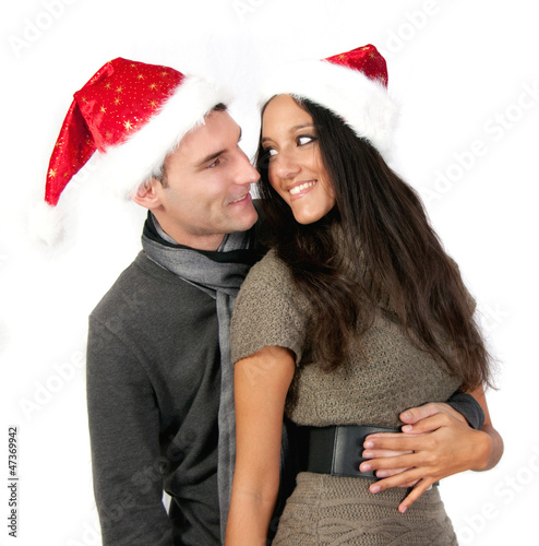 Happy loving Xmas / Christmas Couple