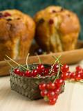 tasty seasonal ingredient for muffins