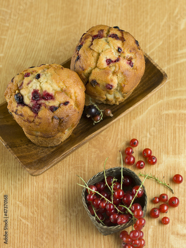 tasty currant muffins