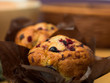 traditional blackcurrant muffins