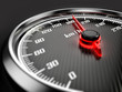 canvas print picture - Speedometer