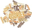 Word cloud for Tic disorder