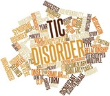 Word cloud for Tic disorder poster