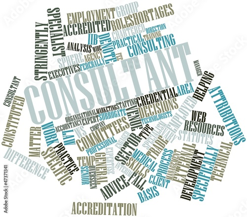 Word cloud for Consultant
