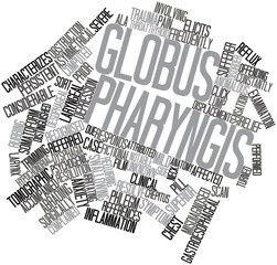 Word cloud for Globus pharyngis
