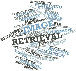Word cloud for Image retrieval