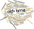Word cloud for Old-time radio