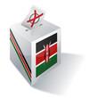 Wahlbox Kenia