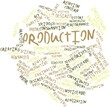 Word cloud for Production