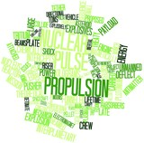 Word cloud for Nuclear pulse propulsion