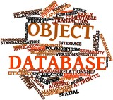 Word cloud for Object database