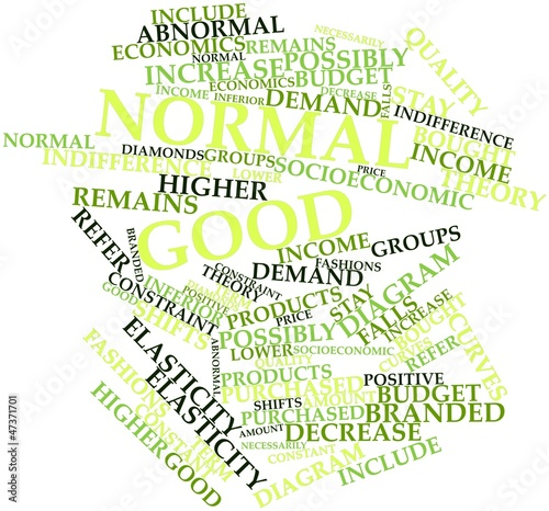 Word cloud for Normal good