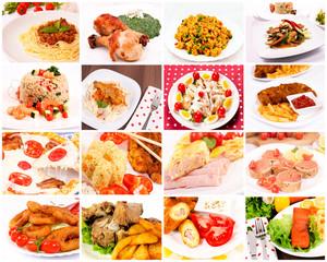 Bunch of food