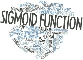 Word cloud for Sigmoid function