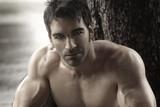Fototapeta fitness - facet - Mężczyzna