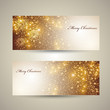 Elegant Christmas banners