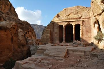 Garden tomb in Petra