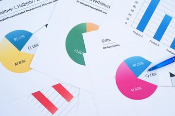 Diagramme - Analysen - Auswertungen