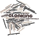 Word cloud for Cloaking