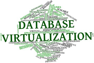 Word cloud for Database virtualization
