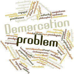 Word cloud for Demarcation problem