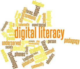 Word cloud for Digital literacy
