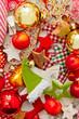 Farbenfrohe Weihnachtsdeko