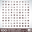 100 Universal Icons For Web and Mobile volume 2