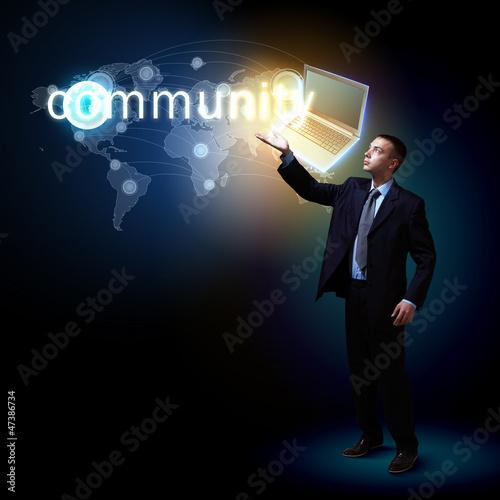 Modern technology in business