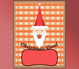 Christmas  Card Happy Santa