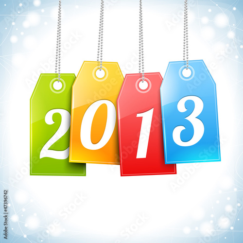 Happy New Year Greetings Card vector