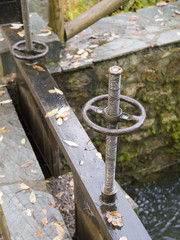 irrigation ditch mechanism detail