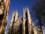 York Minster is a Gothic Cathedral In York England