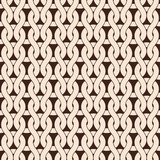 Knitted seamless pattern in natural color