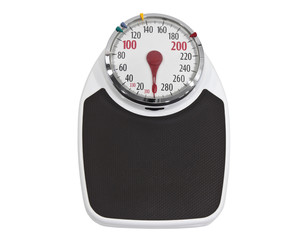 Old Weight Scale Isolated with Clipping Path