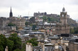 Classic Edinburgh from Calton Hill including Edinburgh Castle, B